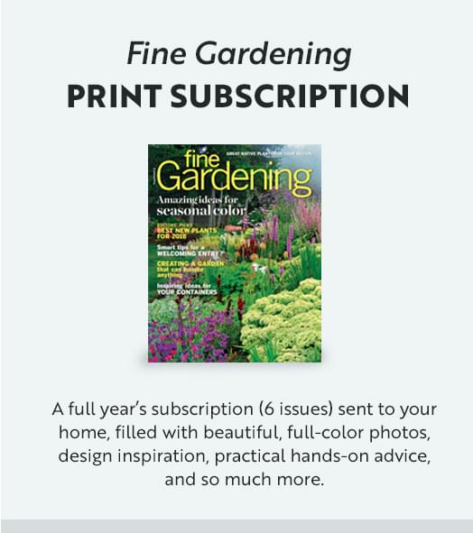 Fine Gardening Print Subscription