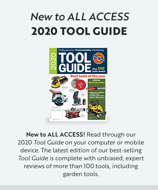 All Access: 2020 Tool Guilde
