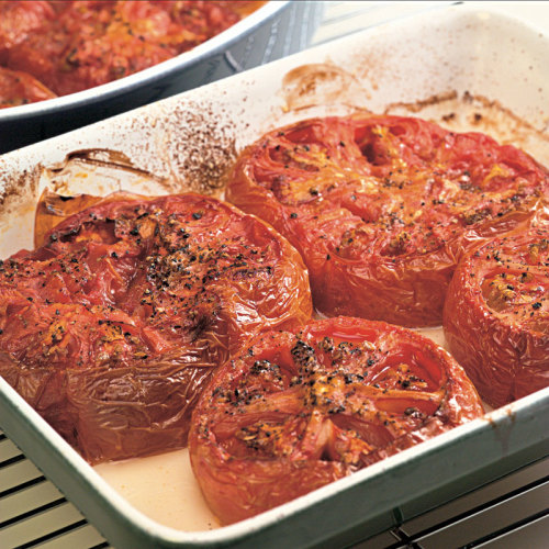 Oven-Roasted Whole Tomatoes
