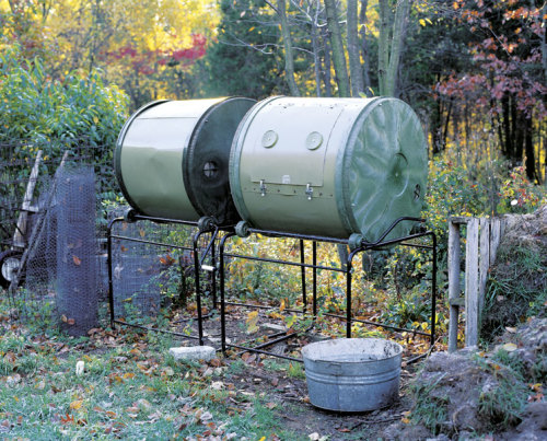 Enclosed compost system