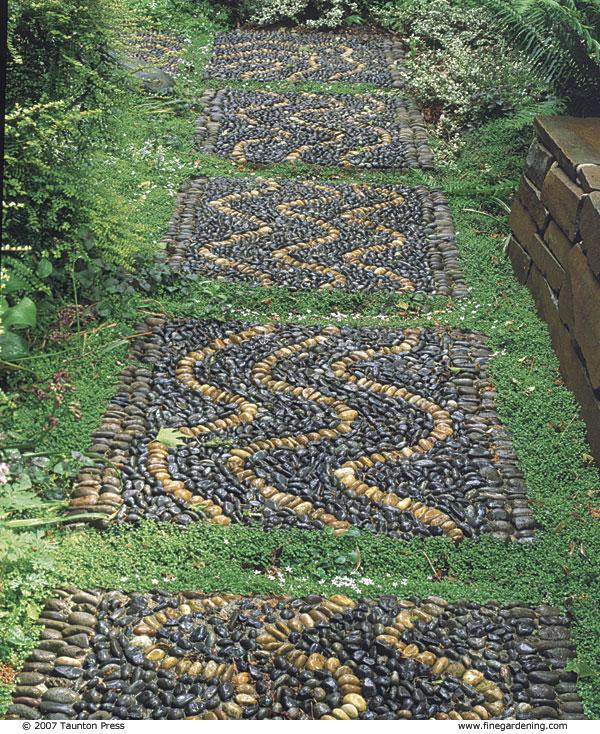 Create A Pebble Mosaic Finegardening