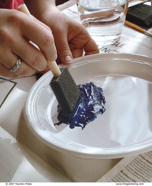 How to Paint Clay Pots