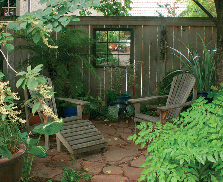 Seating Areas Made Simple - FineGardening on Small Garden Sitting Area Ideas id=51795