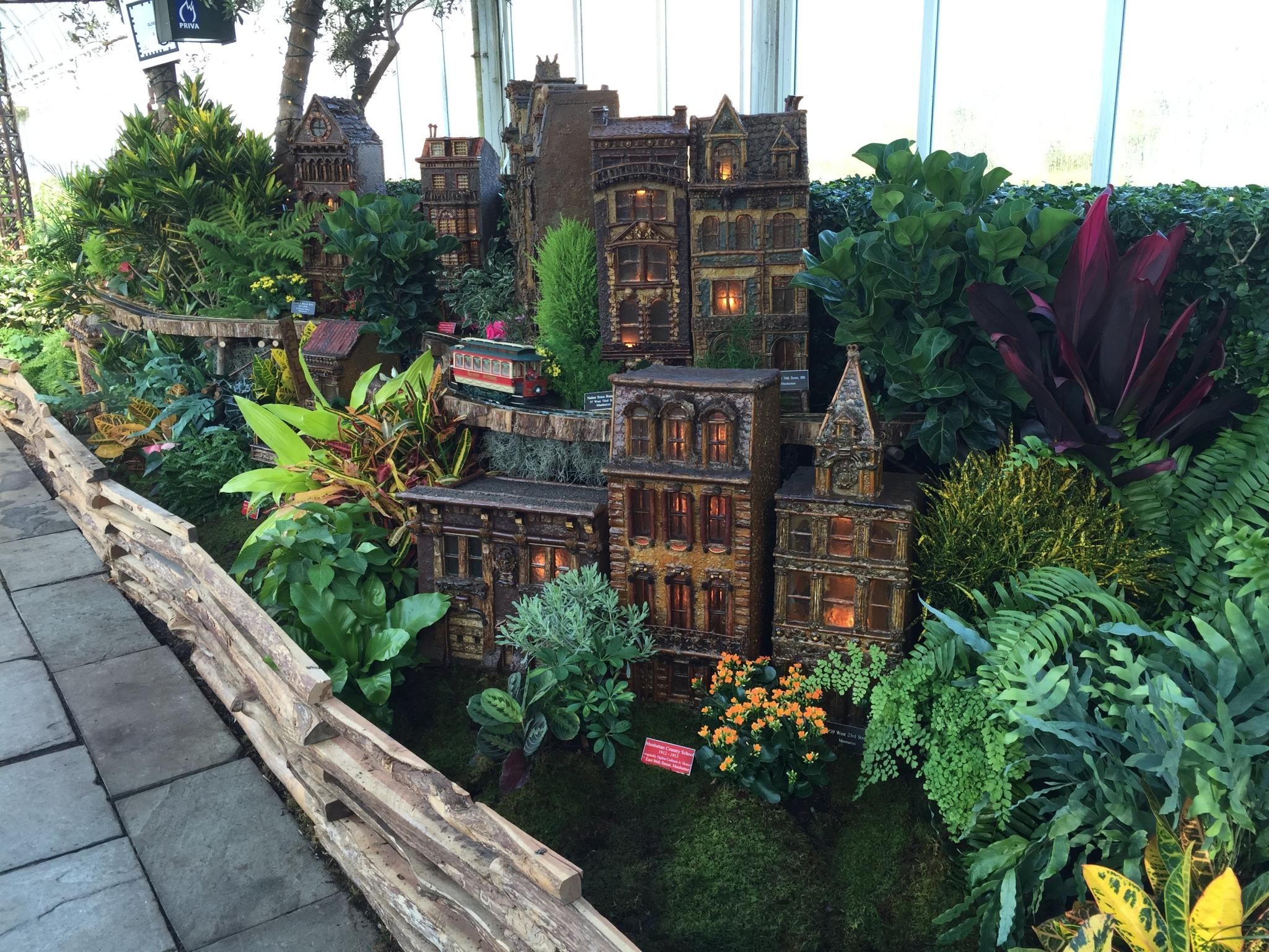 The Holiday Train Show At The New York Botanical Garden Day 1