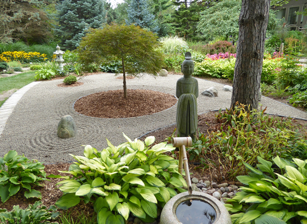 A Japanese Garden Project Finegardening