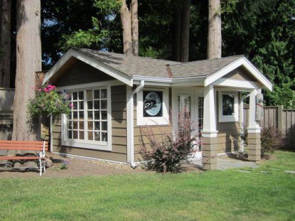 A portfolio of shed designs - FineGardening on cottage dining room design, cottage library design, gardening shed design, cottage shed plans, cottage loft design, home shed design, cottage roof design,