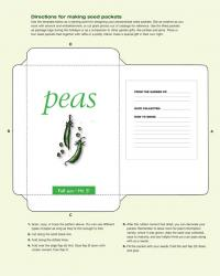seed packets template