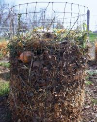 a version of compost pile