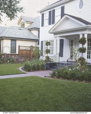 Front Yard Gardens Make A Strong First Impression Finegardening