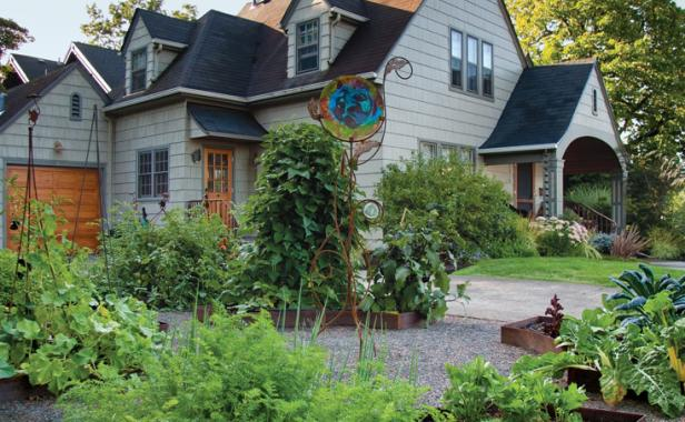 Front Yard Veggies Finegardening